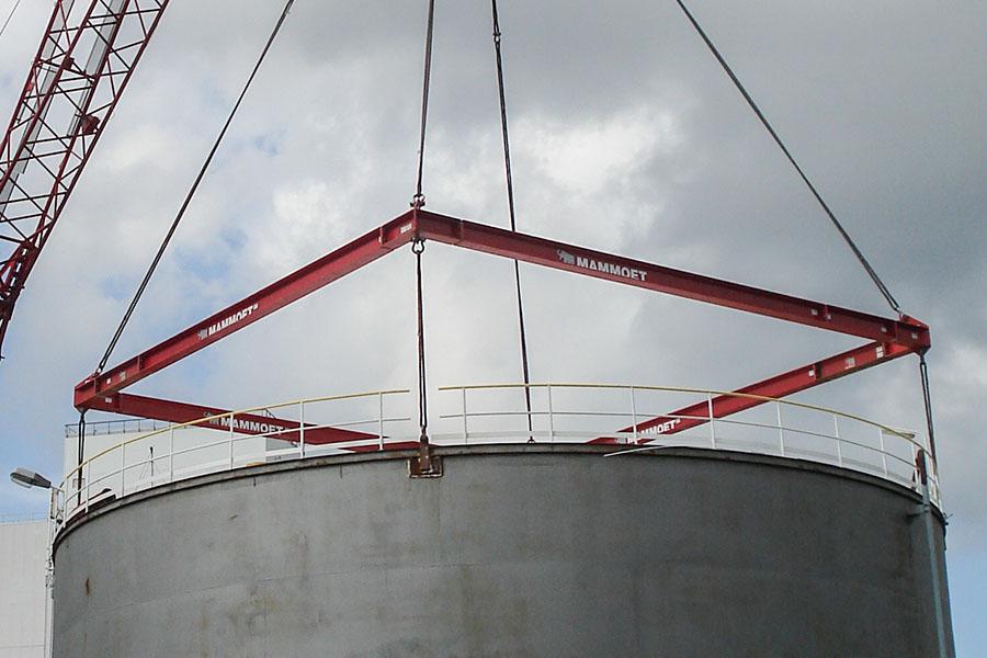 Strength calculation lifting lugs