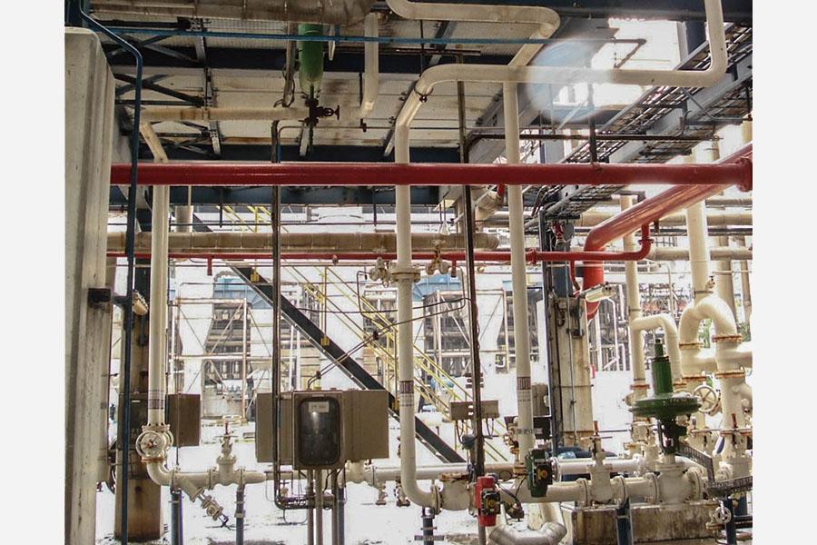Methanol pipes BioMCN