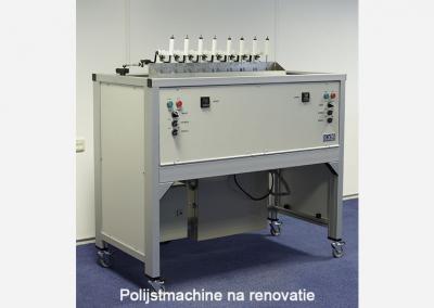 Renovation polishing machine