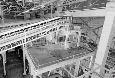 Rubber mixing line
